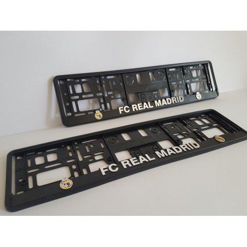 Рамки за номер FC REAL MADRID| Цена от: 15.00лв